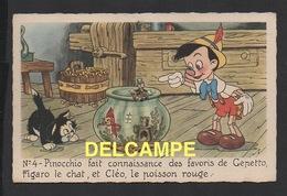 DD / DISNEY / PINOCCHIO / PINOCCHIO , FIGARO , CLÉO ET JIMINY CRICKET - Disney