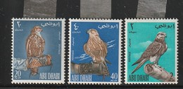 ABOU DHABI - N°12/14 * (1965) Faucons De Chasse - Abu Dhabi