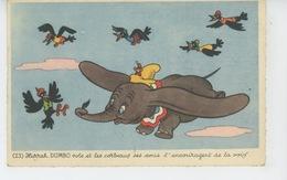WALT DISNEY - MICKEY MOUSE - Jolie Carte Fantaisie De L'éléphant DUMBO - N° 23 - Disney