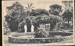 Mozambique ** & Portugal Overseas, Lourenço Marques, Vasco Da Gama Municipal Garden (8861) - Monuments