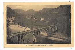 Le Pont Du ROZIER  (cpa 12)   Gorges Du Tarn   -  L 1 - France