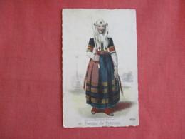 Femme De Tregunc  Ref 3137 - Europe
