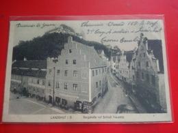 LANDSHUT I.B BERGSTRASSE MIT SCHLOSS TRAUSNITZ - Landshut