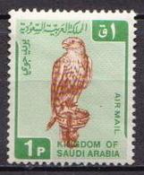 Saudi Arabia MNH Falcon Stamp - Eagles & Birds Of Prey