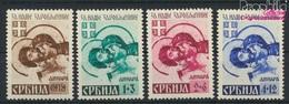 Serbien (Dt.Bes.2.WK.) 62A-65A (kompl.Ausg.) Postfrisch 1942 Kriegsgefangene (9265075 - Besetzungen 1938-45