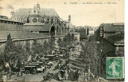 463. CPA 75 PARIS. LES HALLES CENTRALES - France
