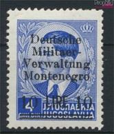 Montenegro (Dt.Bes.2.WK.) 8 Mit Falz 1943 Aufdruckausgabe (9265108 - Besetzungen 1938-45