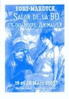 RECULE : Depliant Salon FORT MARDYCK 2005 - Books, Magazines, Comics