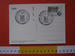 A.06 ITALIA ANNULLO - 1979 BOLOGNA CONGRESSO NAZIONALE RAGIONIERI PROFESSIONISTI IMPIEGATO OFFICE CONTABILITA CARD MAPPA - Professioni