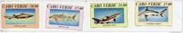 Cap Vert-Cabo Verde-1994-Requins-652/5***MNH - Cap Vert