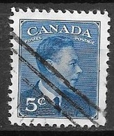 1949 King George VI, 5 Cents, Used - Used Stamps