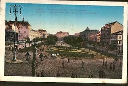 Poland & Circulated,  Lwow Ulica Karola Ludwika, Rue Charle Louis Et  Hetmanski, Antsirabe Madadascar Africa 1911 (66677 - Poland