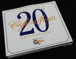 CD  1980-2000  20TH Café Del Mar  Anniversery - Musique & Instruments
