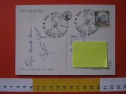 A.06 ITALIA ANNULLO - 1985 ABANO TERME PADOVA 10° CONGRESSO NAZIONALE SILULAP CISL SINDACATO POSTE CARD UMORISTICA FANGO - Posta