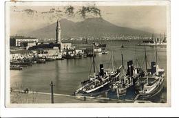 CPA - Carte Postale Italie - Napoli - Panorama Del Porto E Vesuvio S5159 - Napoli (Napels)