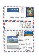 NOUVELLE CALÉDONIE - Lot De 19 ENVELOPPES TIMBRÉES & 4 Enveloppes Sans Timbre. H - Neukaledonien