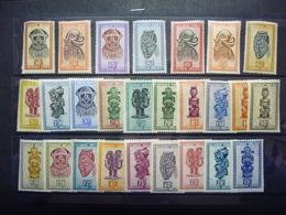 BELGISCH CONGO 277/295 Xx ( COB ) COTE : 120 EURO - 1947-60: Mint/hinged