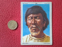 ANTIGUO CROMO OLD COLLECTIBLE CARD Nº 459 INDIO TARASCO TARASCAN MAN INDIEN TABASCO TARASCO-INDIANER MÉXICO ?? VER FOTOS - Cromos