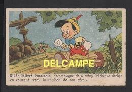 DD / DISNEY / PINOCCHIO / PINOCCHIO ET JIMINY CRICKET - Disney