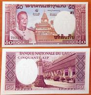 Lao Laos 50 Kip 1963 UNC - Laos