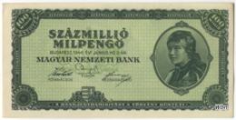 Hongrie 100 Million Milpengö (P130) 03 06 1946 -XXF- - Hongrie