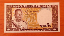 Lao Laos 20 Kip 1963 UNC - Laos