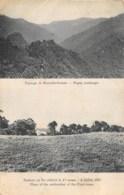 PAPOUASIE - NOUVELLE GUINEE   PAYSAGE  DEUX VUES   MISSIONNAIRES DU SACRE COEUR D'ISSOUDUN - Papua New Guinea
