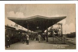 CPA - Carte Postale - Danemark - Korsør - Jernbanestation -1922 - S5161 - Dänemark