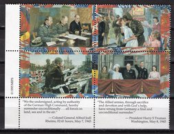 MARSHALL ISLANDS - 1995 History Of The Second World War - V-E (Victory In Europe) Day, 1945  M700 - Guerre Mondiale (Seconde)