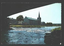 Hotton - L'Eglise Et L'Ourthe - Hotton