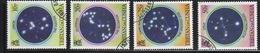 Tristan Da Cunha 1984 Set Of Stamps Celebrating The Night Sky. - Tristan Da Cunha