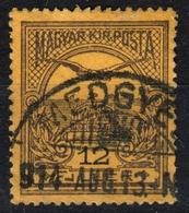 Medgyes Mediaș - TURUL 1914 ROMANIA Transylvania  - Hungary Erdély KuK K.u.K - 12 Fill. - Used - Transylvanie