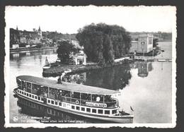 Visé - Robinson Plage - Vue Générale Et Bateau Allant Vers Le Canal Albert - Nels Bromurite - Wezet