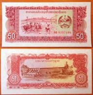Lao Laos 50 Kip 1979 UNC Replacement - Laos