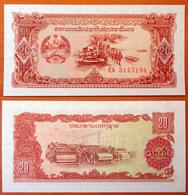 Lao Laos 20 Kip 1979 UNC Replacement - Laos
