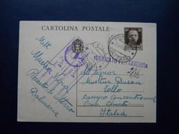 WW2 - ITALY OCCUPATION OF MONTENEGRO 1942- PERASTO  - CATTARO - TOLLO CHIETI - 9. Occupazione 2a Guerra (Italia)