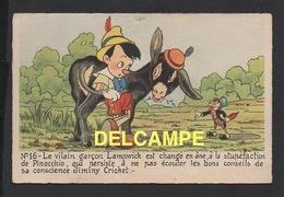 DD / DISNEY / PINOCCHIO / PINOCCHIO , LAMNWICK EN ANE ET JIMINY CRICKET - Disney