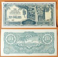 Malaysia 10 Dollars 1942 UNC - Malaysie