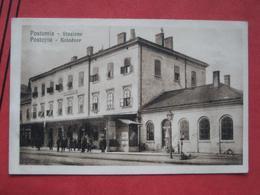 Postojna / Postumia / Adelsberg - Kolodvor / Stazione / Bahnhof - Slovenia
