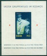 DDR 1962 / MiNr.    Block 17  Leichte Quetschfalte   ** / MNH   (s337) - Bloques