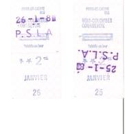 SNCF Train Paris Saint Lazare  Bois Colombes Courbevoie 1981 - Chemins De Fer