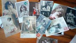 Beau Lot De  1000 Cartes Fantaisies Divers , Femmes ,enfants , Bonne Année ,Avril , Bonne Fête  ,etc - Cartes Postales