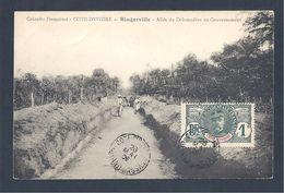 BINGERVILLE - Allée Du Débarcadère Au Gouvernement - Côte-d'Ivoire