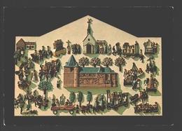 Hamme-Mille - Chapelle St. Corneille - La Procession De St. Corneille - Céramique Max Van Der Linden - Beauvechain