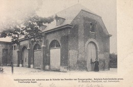 Kieldrecht Prosperpolder Prosper Polder Indijkingswerken Hedwige Polder (1904). Noodkapel (= Prosperhoeve) - Beveren-Waas