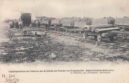 Kieldrecht Prosperpolder Prosper Polder Indijkingswerken Hedwige Polder (1904). Tram - Beveren-Waas