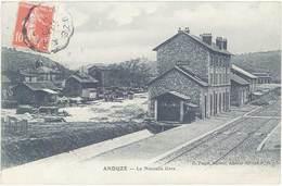 Cpa 30 – Anduze – La Nouvelle Gare - Anduze