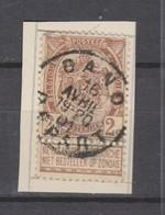 COB 55 Oblitéré GAND Départ - 1893-1907 Armarios