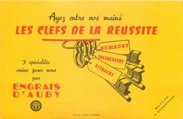 Buvard Ancien LES CLES DE LA REUSSITE ENGRAIS D AUBY - Agriculture
