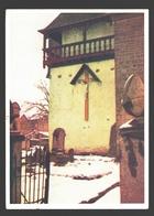 Beho - L'église De Beho - Une Partie De La Galerie Du XVIIIe Siècle Et Une Ancienne Croix De Mission En Chêne - Gouvy